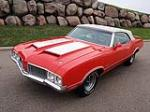 1970 OLDSMOBILE 442 CONVERTIBLE - Front 3/4 - 130255