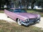 1959 CADILLAC COUPE DE VILLE 2 DOOR COUPE - Front 3/4 - 130286