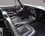 1967 CHEVROLET CAMARO 2 DOOR COUPE - Interior - 130318