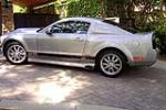 2005 FORD MUSTANG GT CUSTOM COUPE - Side Profile - 130375
