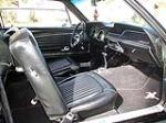 1968 FORD MUSTANG CUSTOM 2 DOOR COUPE - Interior - 130380