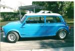 1969 AUSTIN MINI COOPER CUSTOM 2 DOOR COUPE - Side Profile - 130405