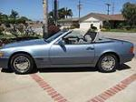1990 MERCEDES-BENZ 300SL CONVERTIBLE - Side Profile - 130420