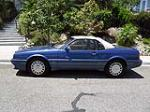 1993 CADILLAC ALLANTE CONVERTIBLE - Side Profile - 130429