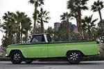 1966 CHEVROLET C-20 CUSTOM PICKUP - Side Profile - 130443