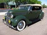 1936 FORD PHAETON CONVERTIBLE - Front 3/4 - 130911