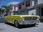 1965 FORD RANCHERO CUSTOM PICKUP - Front 3/4 - 130924