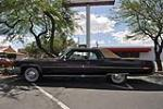 1973 CADILLAC COUPE DE VILLE 2 DOOR COUPE - Side Profile - 130952