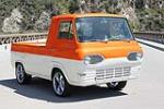 1962 FORD ECONOLINE CUSTOM PICKUP - Front 3/4 - 130989