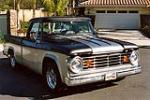 1967 DODGE D-100 CUSTOM PICKUP - Front 3/4 - 131333