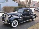 1938 PACKARD EIGHT CONVERTIBLE - Front 3/4 - 132687