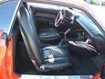 1970 DODGE CHALLENGER R/T 2 DOOR HARDTOP - Interior - 132744