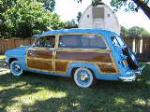 1951 FORD COUNTRY SQUIRE WOODY STATION WAGON - Side Profile - 132750