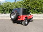 2006 JEEP WRANGLER CUSTOM SUV - Rear 3/4 - 132777
