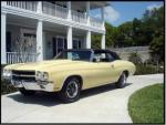 1970 CHEVROLET CHEVELLE SS 396 CONVERTIBLE - Side Profile - 132815