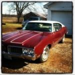 1970 OLDSMOBILE CUTLASS 2 DOOR COUPE - 132857