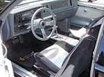 1987 BUICK REGAL GRAND NATIONAL 2 DOOR COUPE - Interior - 132924