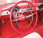 1955 CHEVROLET 210 CUSTOM 2 DOOR SEDAN - Interior - 132969
