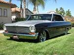 1963 CHEVROLET NOVA CUSTOM 2 DOOR HARDTOP - Front 3/4 - 133046