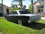 1963 CHEVROLET NOVA CUSTOM 2 DOOR HARDTOP - Rear 3/4 - 133046