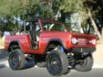 1967 FORD BRONCO CUSTOM SUV - Front 3/4 - 133062