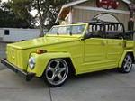 1974 VOLKSWAGEN THING CUSTOM CONVERTIBLE - Front 3/4 - 133078