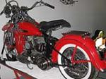 1956 HARLEY-DAVIDSON MOTORCYCLE - Rear 3/4 - 133084