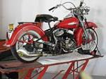 1956 HARLEY-DAVIDSON MOTORCYCLE - Side Profile - 133084