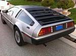 1981 DELOREAN DMC-12 GULLWING - Rear 3/4 - 133135