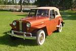 1949 WILLYS JEEPSTER CONVERTIBLE - Side Profile - 133151