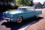 1955 LINCOLN CAPRI 2 DOOR COUPE - Side Profile - 133206