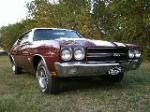 1970 CHEVROLET CHEVELLE LS6 SS 2 DOOR COUPE - Front 3/4 - 133208