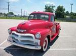 1954 CHEVROLET 3100 CUSTOM 5 WINDOW PICKUP - Front 3/4 - 133481