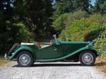 1953 MG TD ROADSTER - Side Profile - 133486