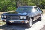 1970 CHEVROLET CHEVELLE MALIBU 2 DOOR COUPE - Front 3/4 - 133488