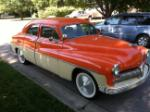 1949 MERCURY CUSTOM 4 DOOR SEDAN - Front 3/4 - 133493