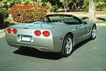 2000 CHEVROLET CORVETTE CONVERTIBLE - Rear 3/4 - 133504