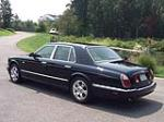 2000 BENTLEY ARNAGE RED LABEL 4 DOOR SEDAN - Rear 3/4 - 133507