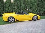 2001 CHEVROLET CORVETTE Z06 CUSTOM CONVERTIBLE - Side Profile - 133556