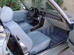 1987 MERCEDES-BENZ 560SL CONVERTIBLE - Interior - 133614
