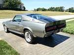 1967 FORD MUSTANG CUSTOM FASTBACK - Rear 3/4 - 137537