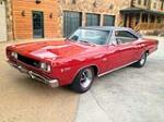 1968 DODGE HEMI CORONET 2 DOOR HARDTOP - Side Profile - 137553