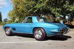 1967 CHEVROLET CORVETTE CONVERTIBLE - Rear 3/4 - 137578