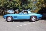1967 CHEVROLET CORVETTE CONVERTIBLE - Side Profile - 137578