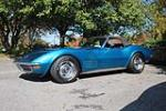 1972 CHEVROLET CORVETTE CONVERTIBLE - Front 3/4 - 137582