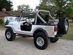 1981 JEEP CJ-7 CUSTOM SUV - Rear 3/4 - 137600