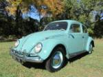 1962 VOLKSWAGEN BEETLE 2 DOOR COUPE - Front 3/4 - 137604