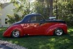 1941 WILLYS CUSTOM COUPE - Side Profile - 137651