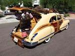 1946 CADILLAC SERIES 62 4 DOOR SEDAN WOODY - Rear 3/4 - 137691