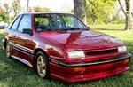 1989 DODGE SHELBY CSX-VNT 3 DOOR HATCHBACK - Front 3/4 - 137693